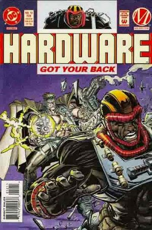 Cover of Hardware (Vol 1) #12. One of 250,000 Vintage American Comics on sale from Krypton!