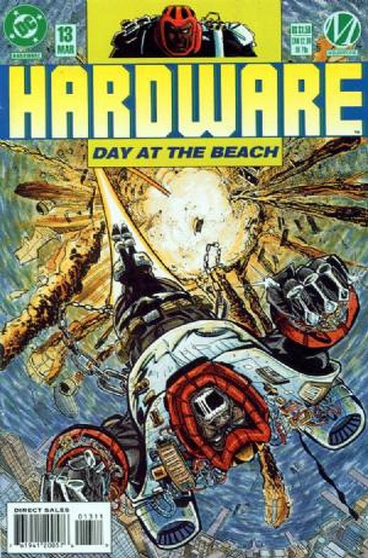Cover of Hardware (Vol 1) #13. One of 250,000 Vintage American Comics on sale from Krypton!