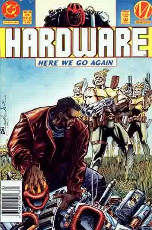 Cover of Hardware (Vol 1) #14. One of 250,000 Vintage American Comics on sale from Krypton!