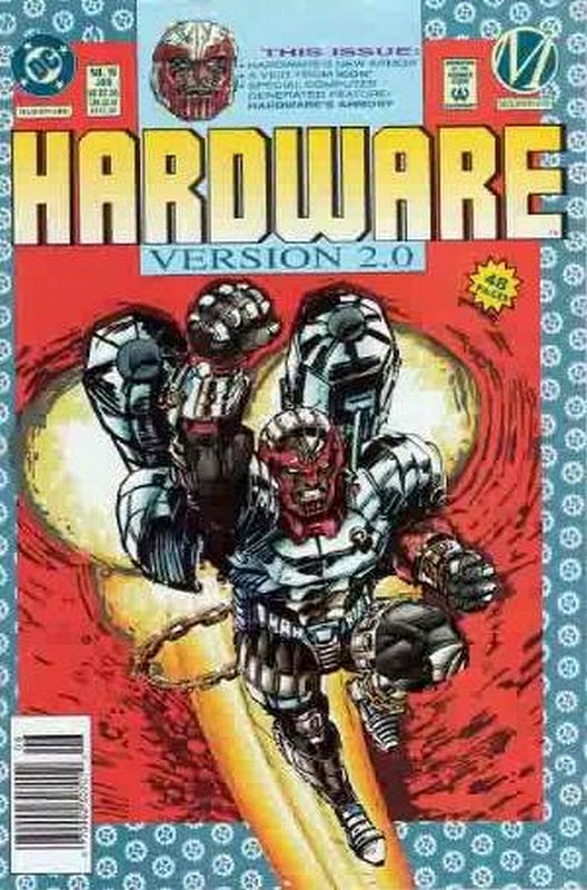 Cover of Hardware (Vol 1) #16. One of 250,000 Vintage American Comics on sale from Krypton!