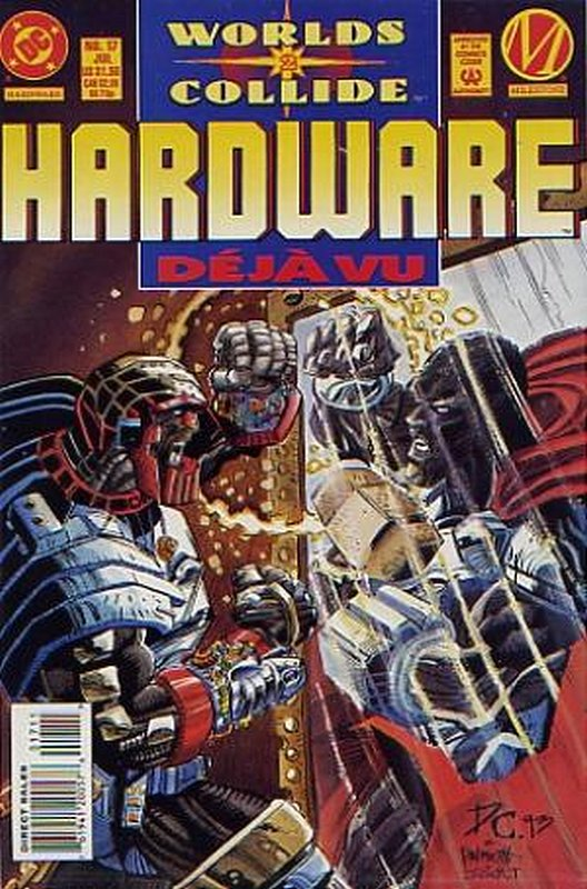 Cover of Hardware (Vol 1) #17. One of 250,000 Vintage American Comics on sale from Krypton!