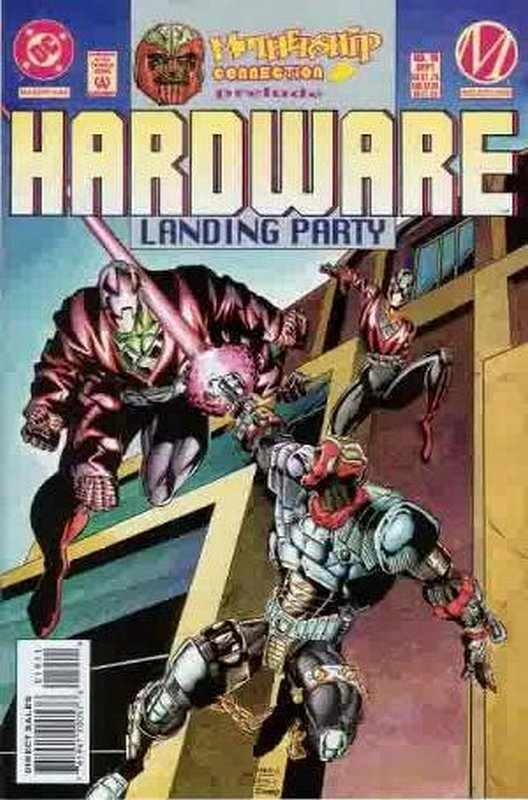 Cover of Hardware (Vol 1) #19. One of 250,000 Vintage American Comics on sale from Krypton!