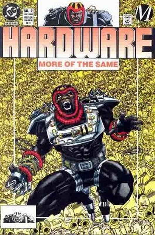 Cover of Hardware (Vol 1) #2. One of 250,000 Vintage American Comics on sale from Krypton!