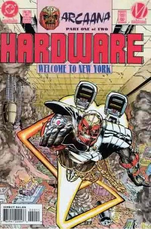 Cover of Hardware (Vol 1) #20. One of 250,000 Vintage American Comics on sale from Krypton!