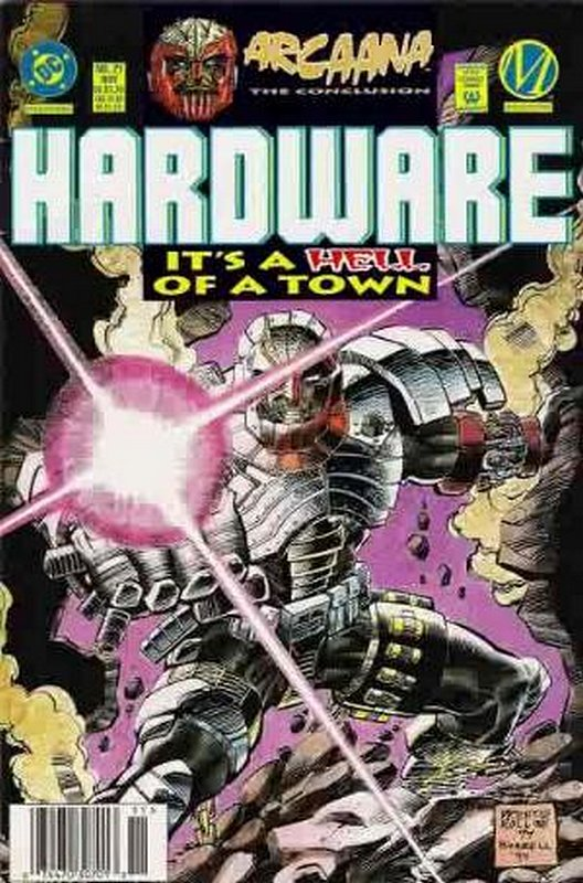 Cover of Hardware (Vol 1) #21. One of 250,000 Vintage American Comics on sale from Krypton!