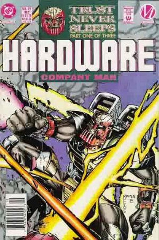 Cover of Hardware (Vol 1) #22. One of 250,000 Vintage American Comics on sale from Krypton!