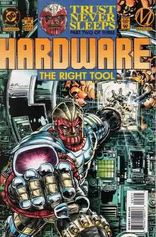 Cover of Hardware (Vol 1) #23. One of 250,000 Vintage American Comics on sale from Krypton!