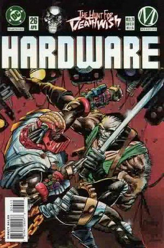 Cover of Hardware (Vol 1) #26. One of 250,000 Vintage American Comics on sale from Krypton!