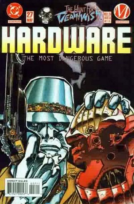 Cover of Hardware (Vol 1) #27. One of 250,000 Vintage American Comics on sale from Krypton!