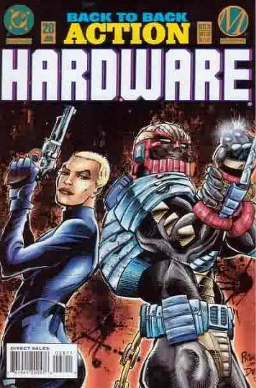 Cover of Hardware (Vol 1) #28. One of 250,000 Vintage American Comics on sale from Krypton!