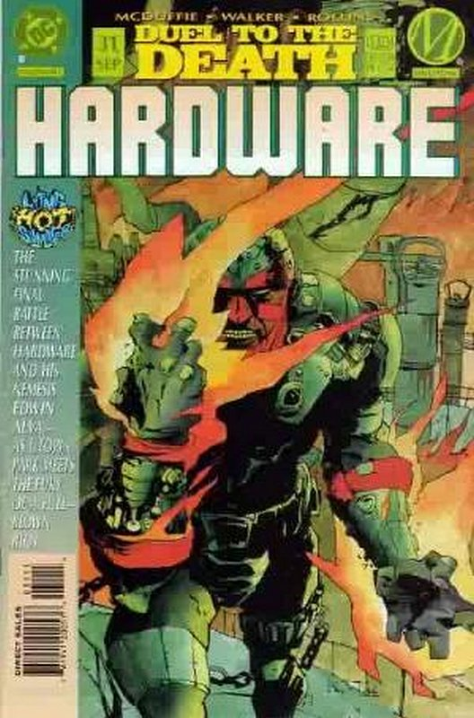 Cover of Hardware (Vol 1) #31. One of 250,000 Vintage American Comics on sale from Krypton!