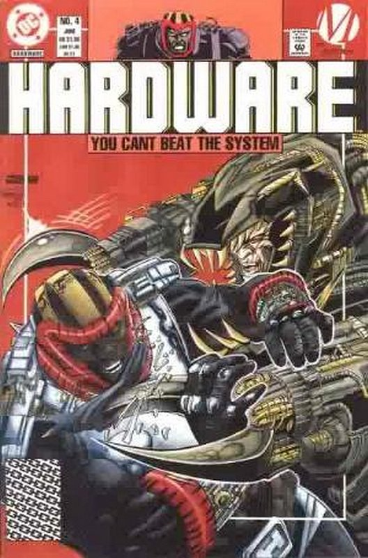 Cover of Hardware (Vol 1) #4. One of 250,000 Vintage American Comics on sale from Krypton!