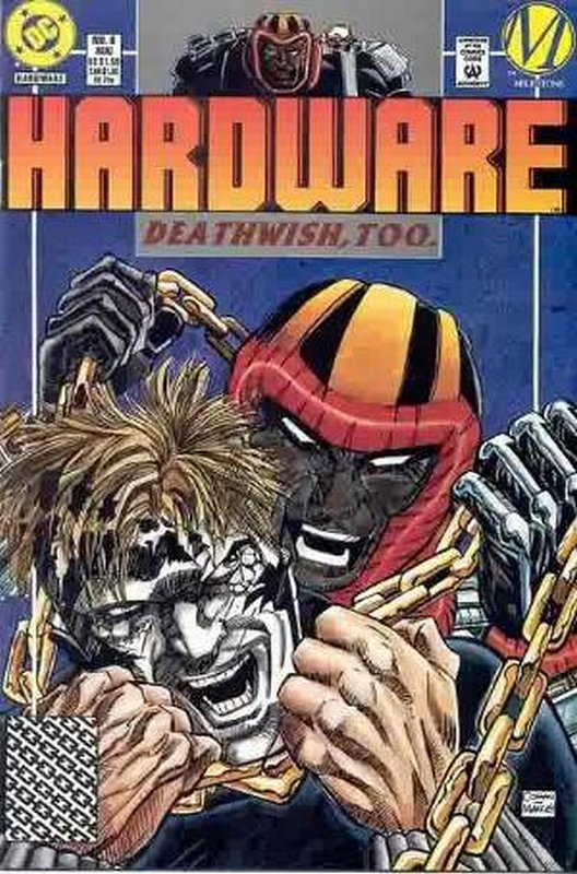 Cover of Hardware (Vol 1) #6. One of 250,000 Vintage American Comics on sale from Krypton!