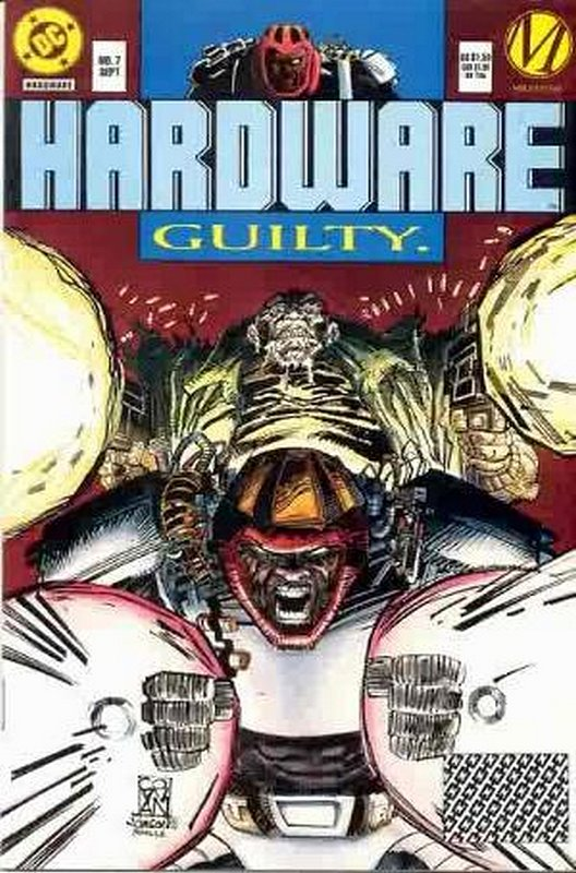Cover of Hardware (Vol 1) #7. One of 250,000 Vintage American Comics on sale from Krypton!