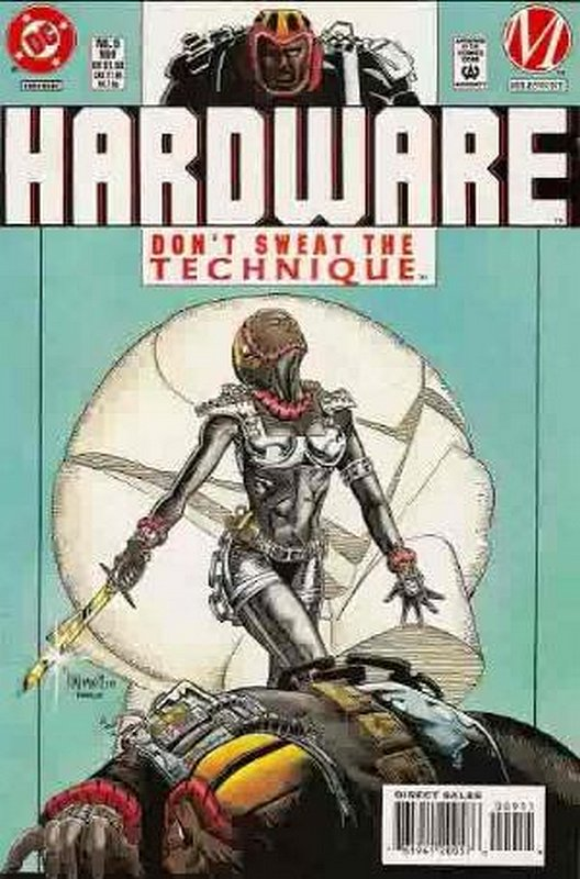 Cover of Hardware (Vol 1) #9. One of 250,000 Vintage American Comics on sale from Krypton!