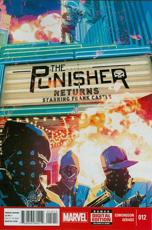 Cover of Punisher (Vol 6) #12. One of 250,000 Vintage American Comics on sale from Krypton!