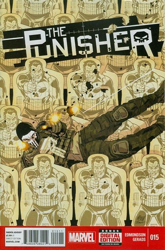 Cover of Punisher (Vol 6) #15. One of 250,000 Vintage American Comics on sale from Krypton!