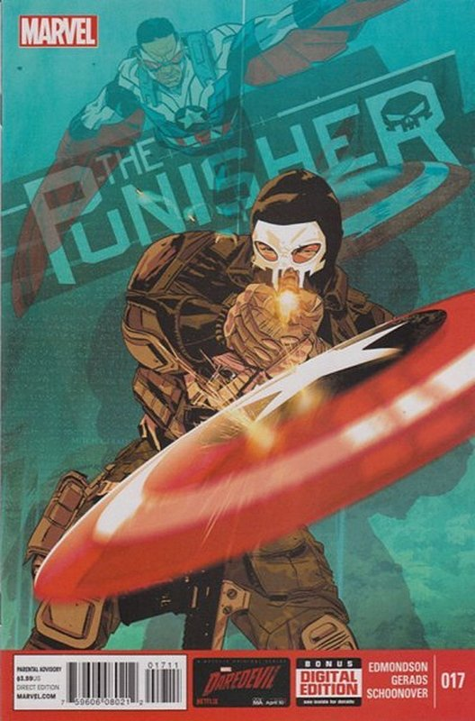 Cover of Punisher (Vol 6) #17. One of 250,000 Vintage American Comics on sale from Krypton!