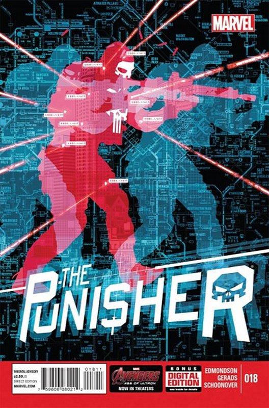 Cover of Punisher (Vol 6) #18. One of 250,000 Vintage American Comics on sale from Krypton!