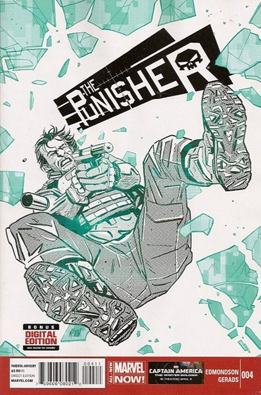 Cover of Punisher (Vol 6) #4. One of 250,000 Vintage American Comics on sale from Krypton!