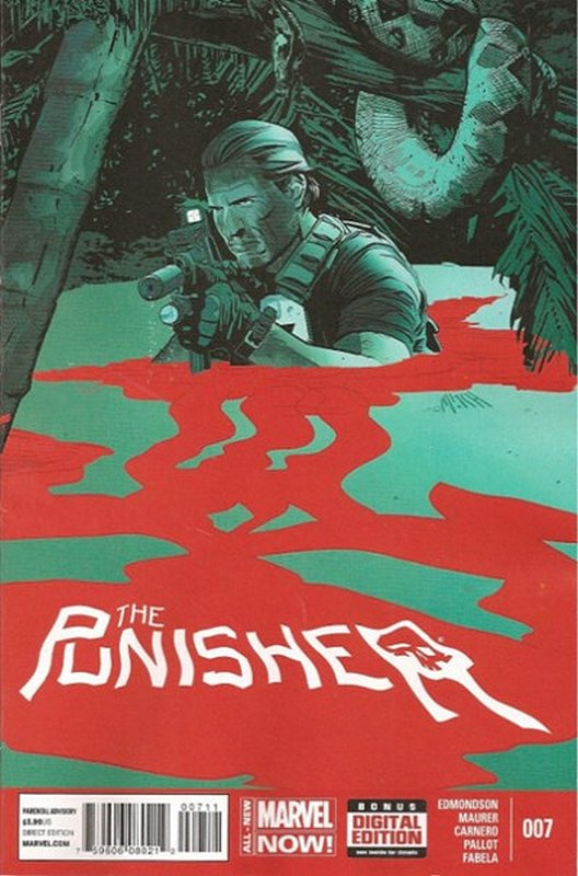 Cover of Punisher (Vol 6) #7. One of 250,000 Vintage American Comics on sale from Krypton!