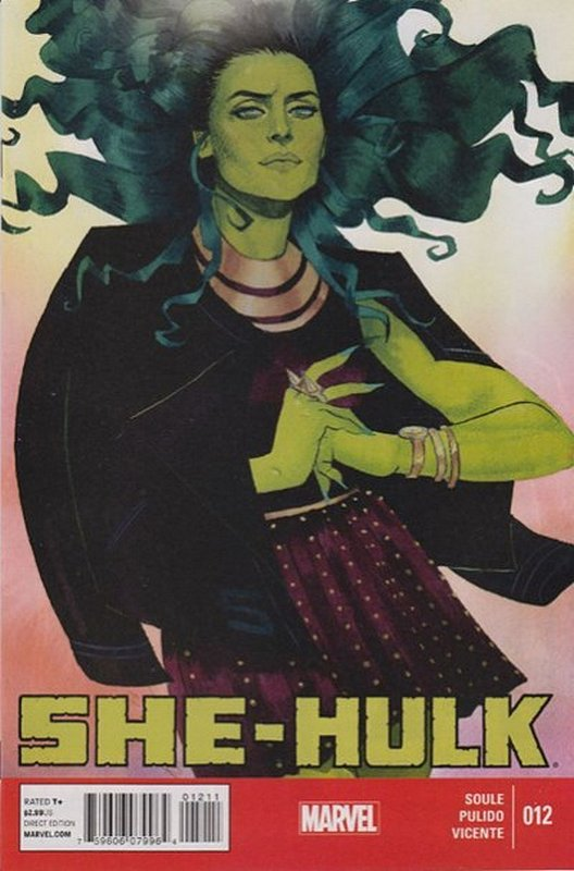 Cover of She-Hulk (Vol 5) #12. One of 250,000 Vintage American Comics on sale from Krypton!