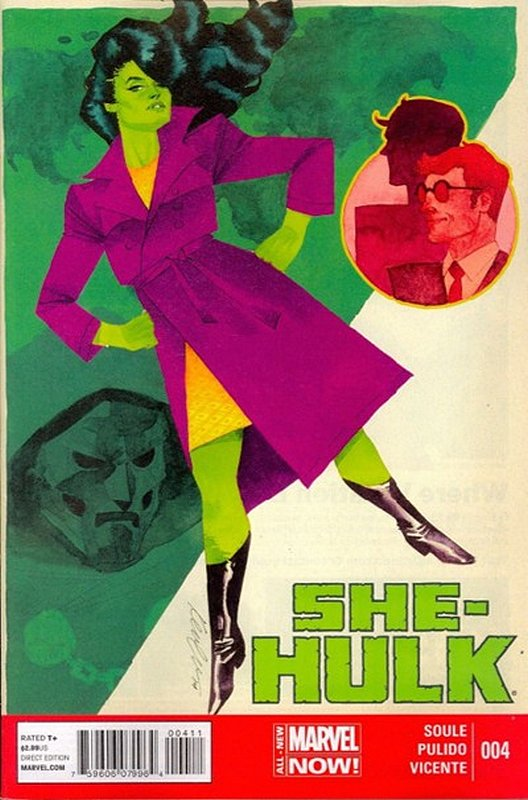 Cover of She-Hulk (Vol 5) #4. One of 250,000 Vintage American Comics on sale from Krypton!