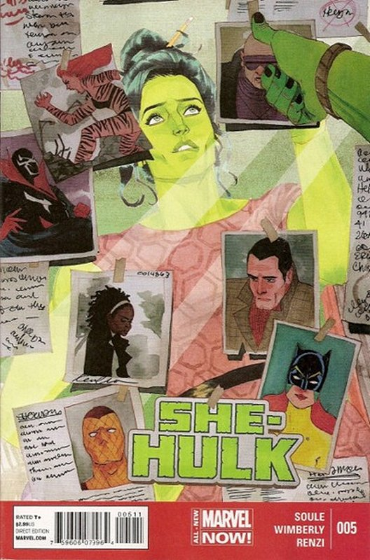 Cover of She-Hulk (Vol 5) #5. One of 250,000 Vintage American Comics on sale from Krypton!
