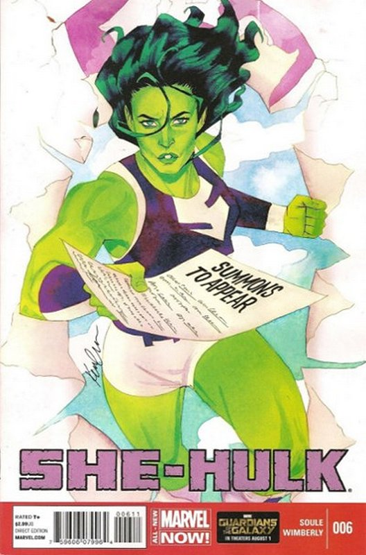Cover of She-Hulk (Vol 5) #6. One of 250,000 Vintage American Comics on sale from Krypton!