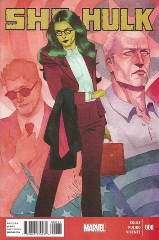 Cover of She-Hulk (Vol 5) #8. One of 250,000 Vintage American Comics on sale from Krypton!