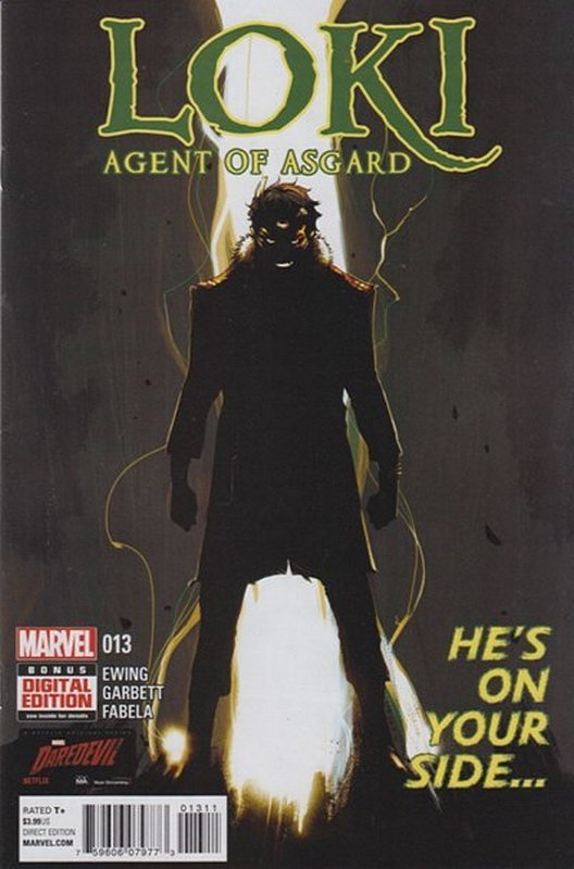 Cover of Loki: Agent of Asgard (Vol 1) #13. One of 250,000 Vintage American Comics on sale from Krypton!