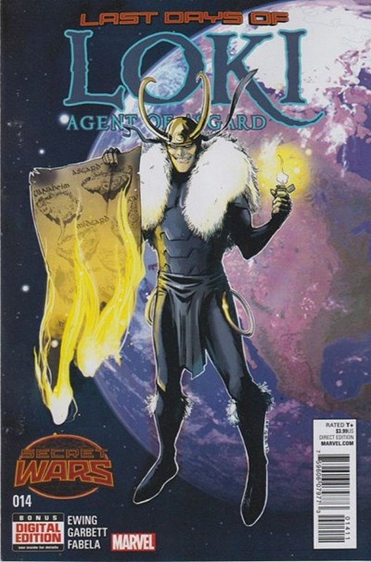 Cover of Loki: Agent of Asgard (Vol 1) #14. One of 250,000 Vintage American Comics on sale from Krypton!