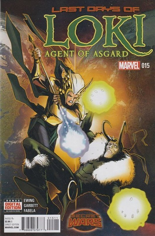 Cover of Loki: Agent of Asgard (Vol 1) #15. One of 250,000 Vintage American Comics on sale from Krypton!