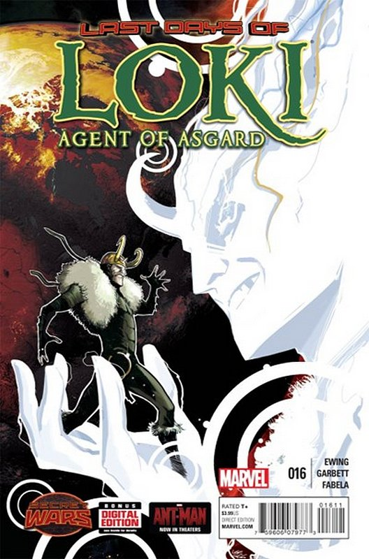 Cover of Loki: Agent of Asgard (Vol 1) #16. One of 250,000 Vintage American Comics on sale from Krypton!