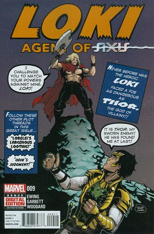Cover of Loki: Agent of Asgard (Vol 1) #9. One of 250,000 Vintage American Comics on sale from Krypton!