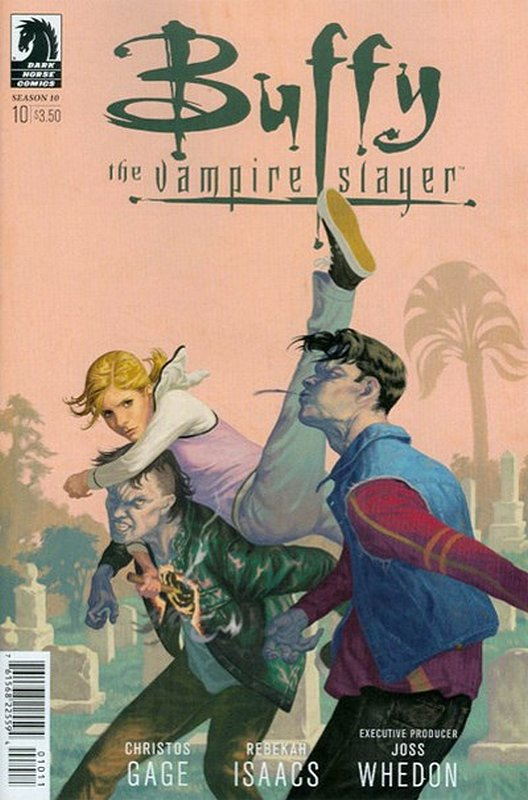 Cover of Buffy the Vampire Slayer: Season 10 #10. One of 250,000 Vintage American Comics on sale from Krypton!