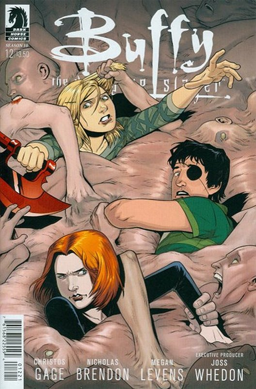 Cover of Buffy the Vampire Slayer: Season 10 #12. One of 250,000 Vintage American Comics on sale from Krypton!