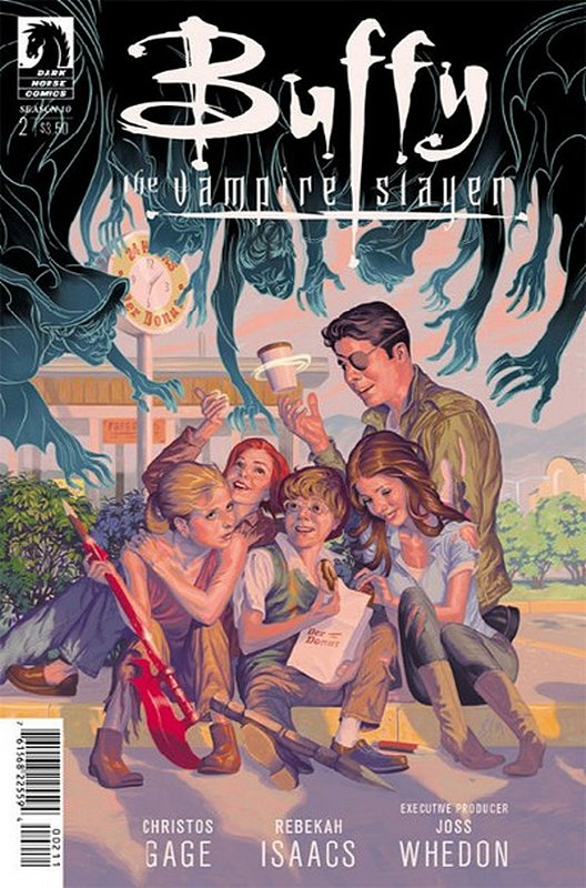 Cover of Buffy the Vampire Slayer: Season 10 #2. One of 250,000 Vintage American Comics on sale from Krypton!