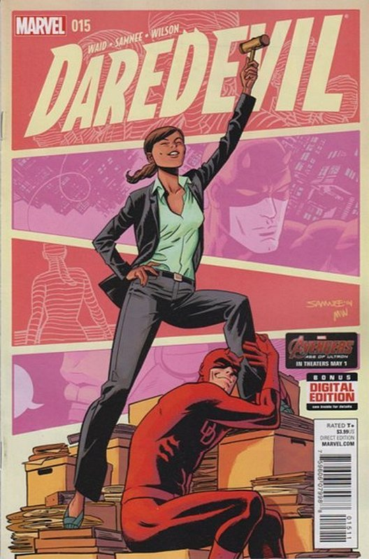 Cover of Daredevil (Vol 4) #15. One of 250,000 Vintage American Comics on sale from Krypton!