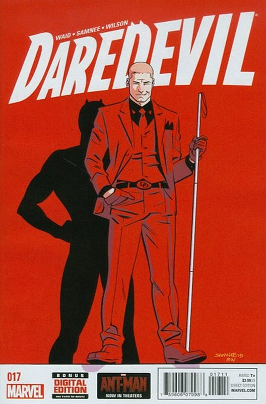 Cover of Daredevil (Vol 4) #17. One of 250,000 Vintage American Comics on sale from Krypton!