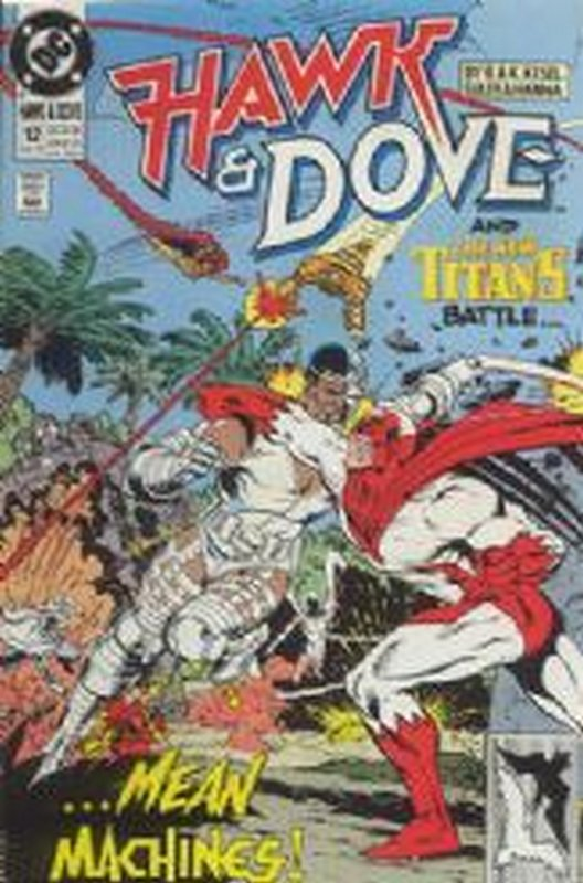 Cover of Hawk & Dove (Vol 2) The #12. One of 250,000 Vintage American Comics on sale from Krypton!