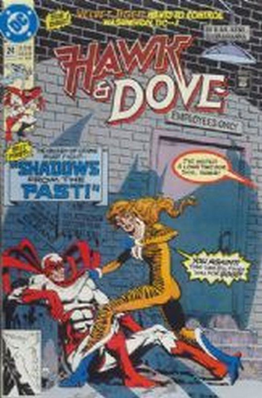 Cover of Hawk & Dove (Vol 2) The #24. One of 250,000 Vintage American Comics on sale from Krypton!