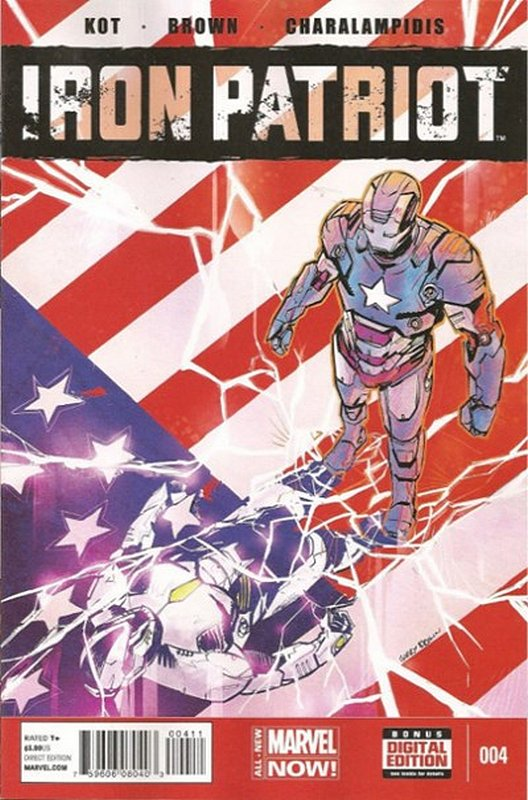 Cover of Iron Patriot (Vol 1) #4. One of 250,000 Vintage American Comics on sale from Krypton!