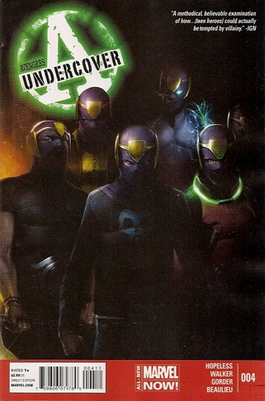 Cover of Avengers: Undercover (Vol 1) #4. One of 250,000 Vintage American Comics on sale from Krypton!