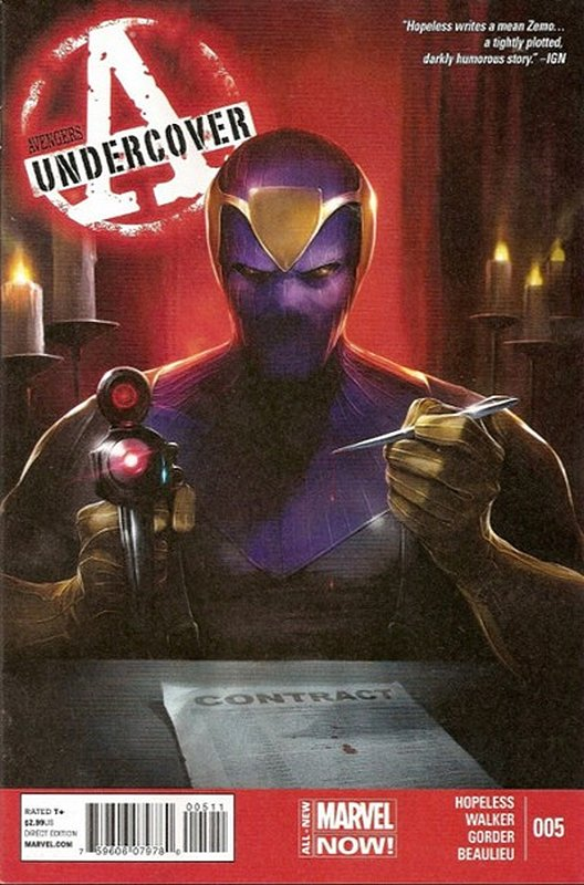 Cover of Avengers: Undercover (Vol 1) #5. One of 250,000 Vintage American Comics on sale from Krypton!