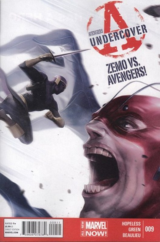 Cover of Avengers: Undercover (Vol 1) #9. One of 250,000 Vintage American Comics on sale from Krypton!