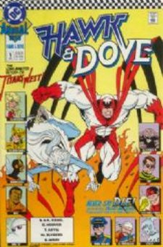 Cover of Hawk & Dove Annual #1. One of 250,000 Vintage American Comics on sale from Krypton!