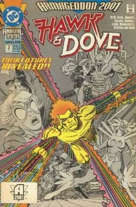 Cover of Hawk & Dove Annual #2. One of 250,000 Vintage American Comics on sale from Krypton!