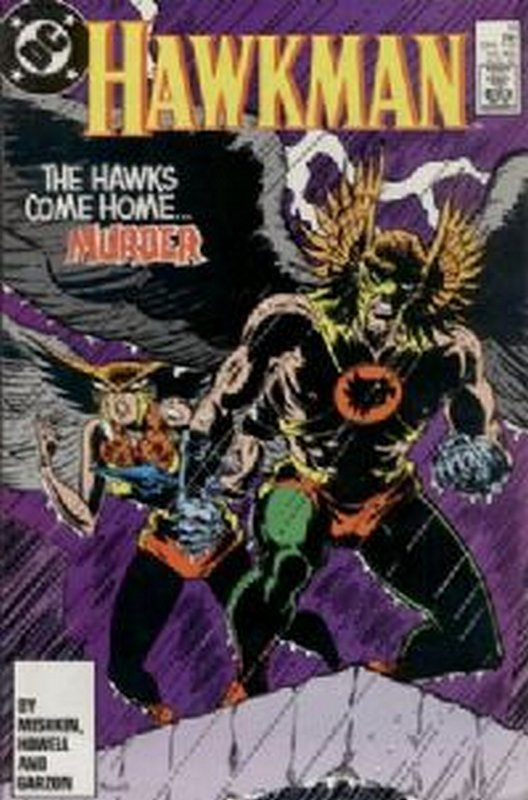 Cover of Hawkman (Vol 2) #13. One of 250,000 Vintage American Comics on sale from Krypton!