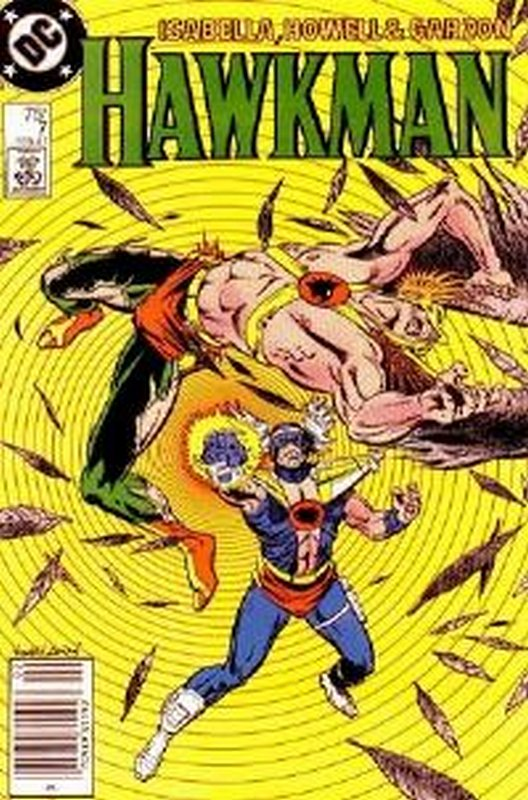 Cover of Hawkman (Vol 2) #7. One of 250,000 Vintage American Comics on sale from Krypton!